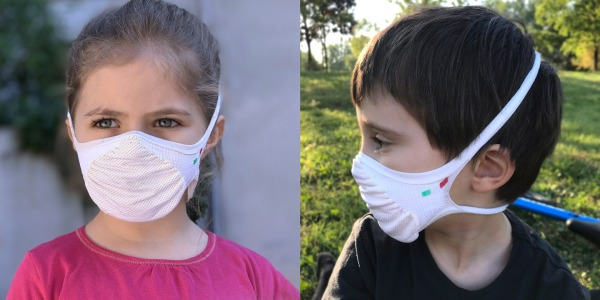 Face masks for kids: Kynotex face masks for little riders!